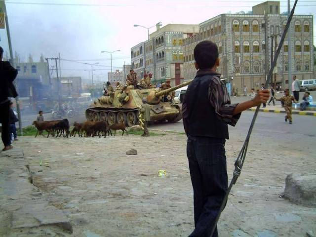 На улицах Йемена